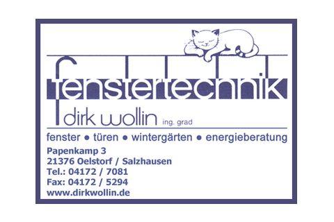 Fenstertechnik  Dirk Wollin GmbH