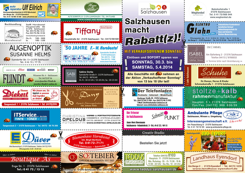 Aktionskalendar Salzhausen E V Kultur Heimat Leben